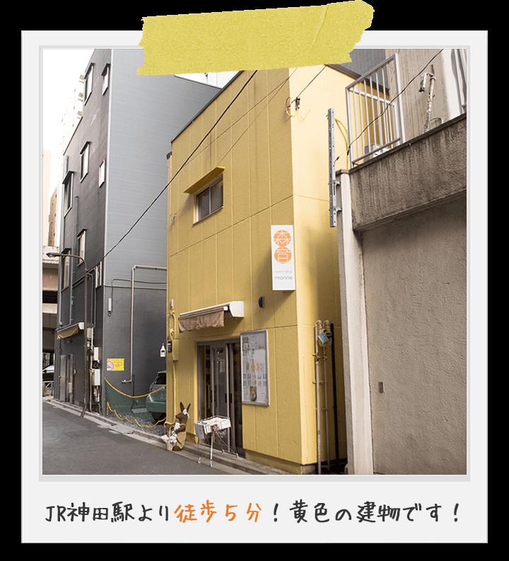 うさぎセレクトショップ森音【東京神田のうさぎ雑貨店】アクセス